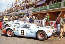 """24 h du Mans """" Un mythe """" / Courses et voitures de l'épreuve des 24h."""