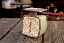 Antique Scales / Antique scales for photo props or your kitchen!