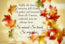 Verses loved ones gone forever