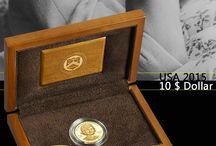 U.S Mint / U.S Mint coins distributed by EMK / Münzen der U.S Mint im Angebot bei EMK.
