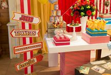 """cumpleaños infantil temática """"El circo"""""""