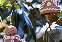 A gingerbread man from a claypot