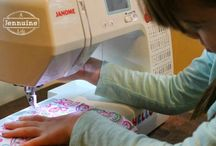 teaching children to sew