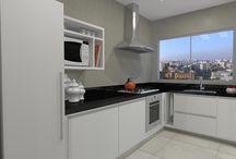 Gabinetes Cozinha em L