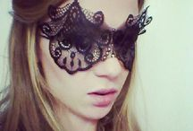 50 Shades of Grey Masks / by Miss S-a Headbands