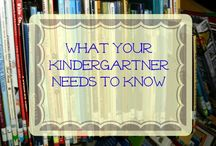 Homeschool: Kindergarten / Ideas to help with planning and making Kindergarten awesome.