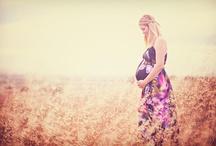 Séance maternité dehors