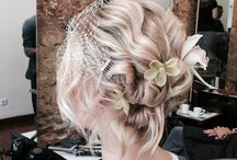 Bridal hair by hairfusionlisboa