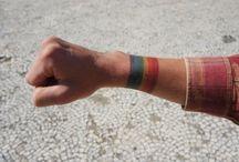 rainbow tatoo