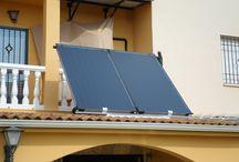 Solar - Energía Renovable - Térmica / Instalación de energía solar térmica en una vivienda particular Instalación Forzada