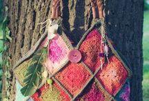 Crochet - sacs ; bags