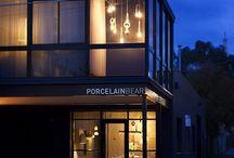 Porcelain Bear Showroom / Images of the Porcelain Bear showroom in Collingwood, Melbourne.