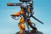 infinity / Infinity the game miniatures