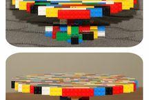 Lego & minecraft cakes
