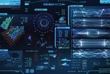 Sci-fi UI