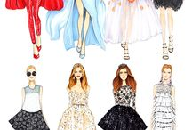 fashion illustrsytions