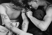 People tattoos