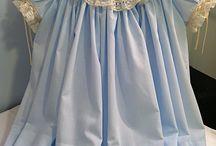 Bebek vintage elbiseler