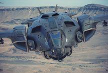 SpaceCrafts / by Stas Kalkaev