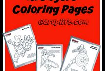 Coloring Pages/ Activitiy Pages / Free Coloring or activity pages