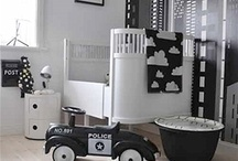 Baby Room / Black and White baby room deco