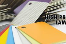 High Pressure Laminates / Laminated panels for furniture, office, hosipitality and more