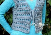 Crochet vests