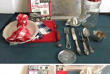 Glamorously Vintage - Food Props