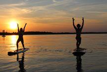 SUP YOGA / Stand up paddle Yoga