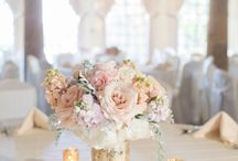 Pale pink & gold