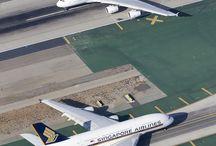 flight / airplane. aeroplane. passenger airplane. airport