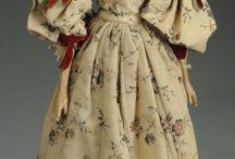 кукла леди папье маше ХIХ век