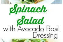 Easy healthy salads