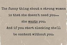 Women / Strong women