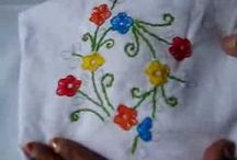 Hand Embroidery / Different types of hand Embroidery designs........