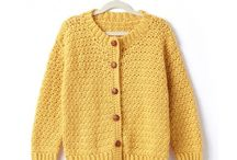 Girls crochet sweater