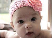 Baby-Stirnbänder