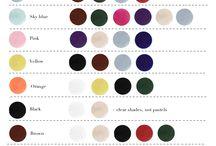 Garde robe colors