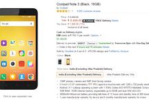 Coolpad Note 3 Gets Price Cut of Rs. 500 & Available @ Rs. 8499