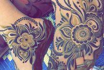 henna láb