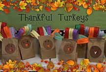 Classroom Thanksgiving Ideas / by Sue Schueller
