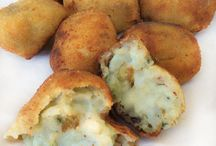croquetas de queso roquefor
