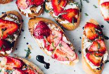 Essen - Erdbeeren