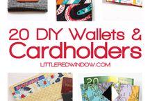 DIY Tote's/wallets