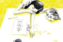 Illustrations / by Choa Sapo