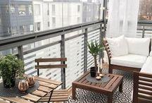 balcony/yard