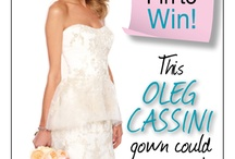 Bridal Guide Cover Gown Sweepstakes.