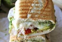 Sandwiches / by Kathy Schaefer