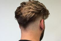 Faded hairstyle