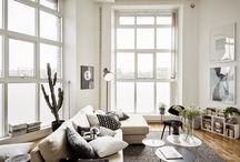 Scandinavian Living Rooms - Σκανδιναβικά Σαλόνια